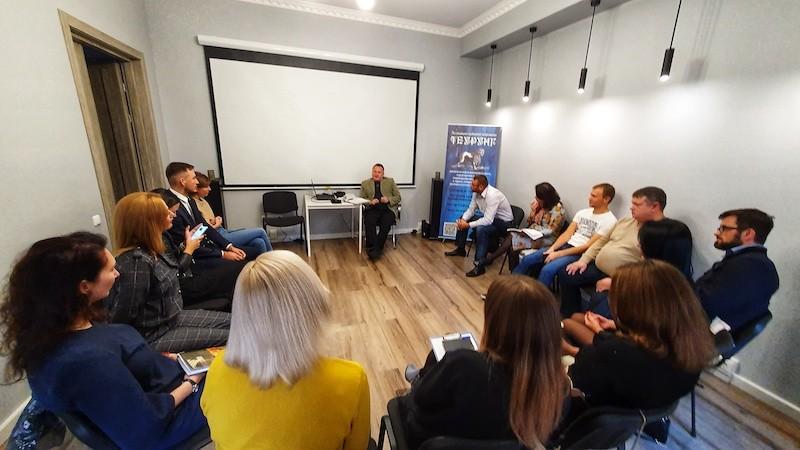 В Киеве состоялся семинар «Мужские и женские инстинкты в отношениях»